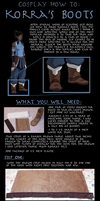 Korra Boots Tutorial by Very-Crofty