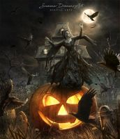 Hallow-ing Death by SummerDreams-Art