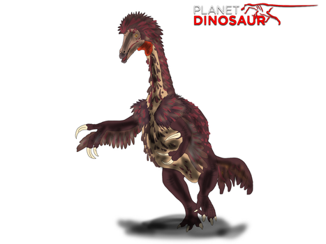 Planet Dinosaur- Nothronychus by Vespisaurus