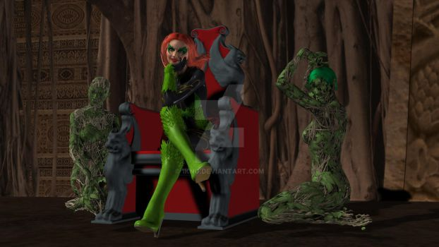 Poison Ivy + Plants by 1KNG