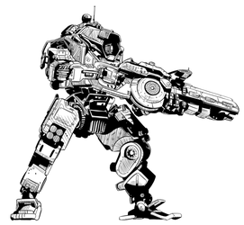Titanfall WIP by teamwreckloose