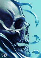 Blue Skull by Disse86