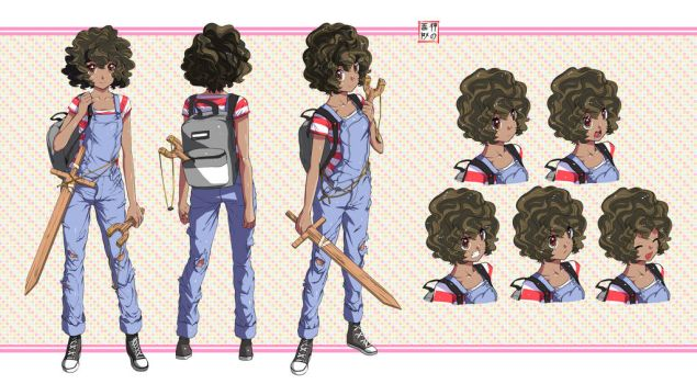 Cute Girl Character Concept by EUDETENIS