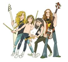 METALLICA1982-1984 by geum-ja1971