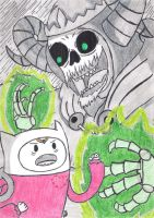 Against The Lich by Ancyd-Watercolour