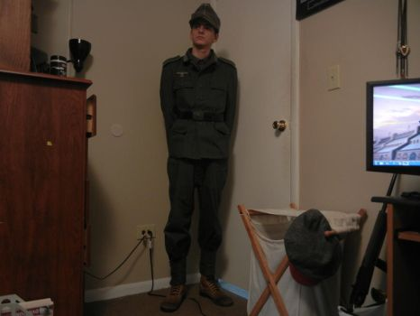 My WWII Impression/I.D. Picture by Stonewall211