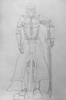 Templar Knight Concept (Project A) by AngelOfNope