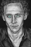 Hiddleston by cmloweart