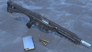 Remodeled: MG-32 Battle Rifle by SideWinder742
