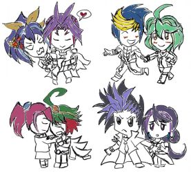 Dimension counterpart Arc-v by LoveCartoonGame