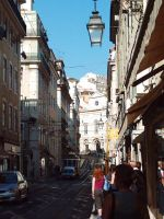 Street of lisbon by Rauven