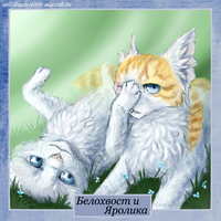 Cloudtail and Brightheart. Warriors by Romashik-arts