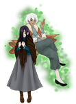 Amelie and Mordan by Hime-Takamura