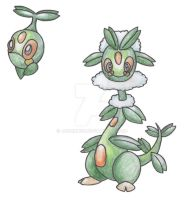 Beanstalk Pokemon by JoshKH92