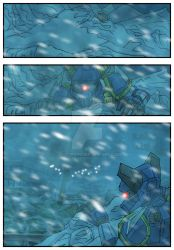 Chronicles of Polaris Comic Page 1 PREVIEW by MikeOrion