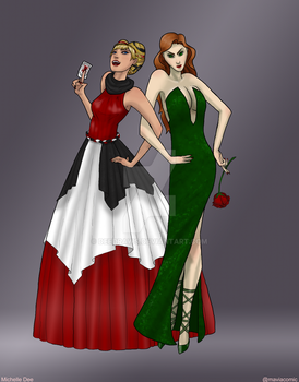 Harley And Ivy - evening gowns by DeeDraws