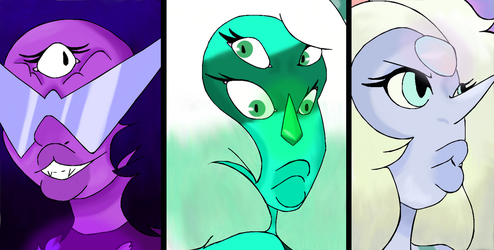 fusions by amywolf45