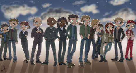 SPN - Angels by ArcherVale