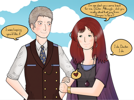 The Twelfth Doctor and Donna by ice-cream-skies