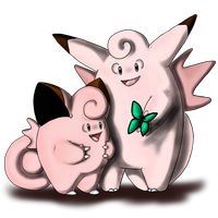 Clefairy and evo