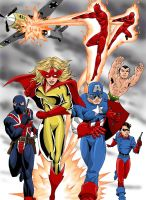 Marvel's Invaders by xcub