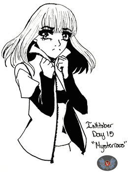Inktober Day 15- Mysterious by vicfania8855
