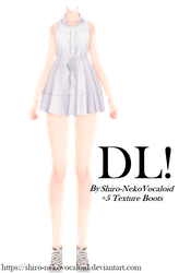 Outfit #1 [DOWNLOAD] by Shiro-NekoVocaloid