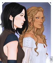 Threadsisters by Merwild