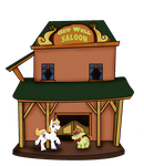 Only at the Get Well Saloon by JennytheJackass