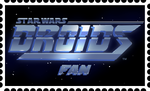 Star Wars : Droids Fan Stamp by RetroUniverseArt