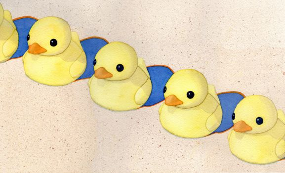 Ducks in a Row by M-Rehe