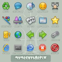 Icons: Systematrix by royalflushxx