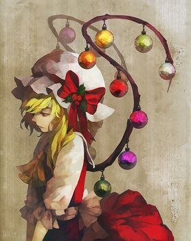 CHRISTMAS TREE WAS HER by Arlmuffin