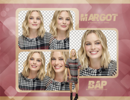 Pack Png 744 // Margot Robbie by BEAPANDA