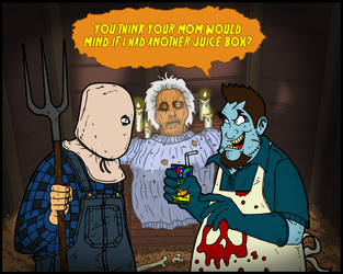 Friday the 13th part 02x by johnnysparks