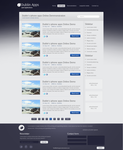 Appstore Blog Website Template .PSD by YesIMaDesigner