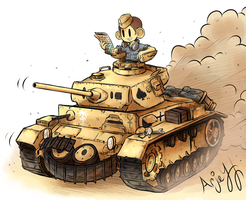 Panzer III by Arjay-the-Lionheart