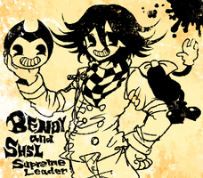 BENDY and SHSL Supreme Leader by G-2112