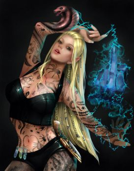 Tattoo Assassin version 2 by RomanticFae