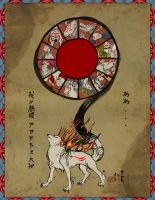 Oh our Merciful Mother, Amaterasu... by Edge-chan