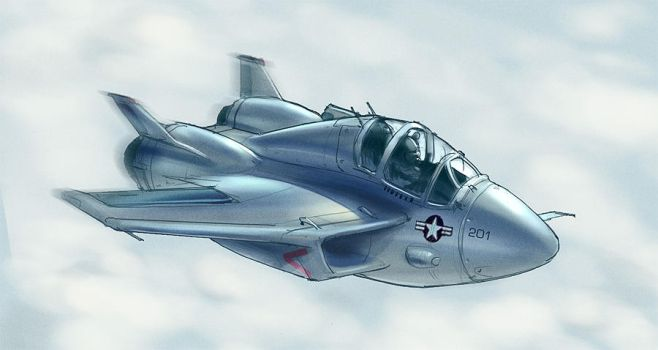 Fat Jet by MeckanicalMind