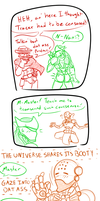 Overwatch Genji Booty comic by foxzombiej
