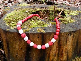 Ethnical eco-necklace by cat-o-love