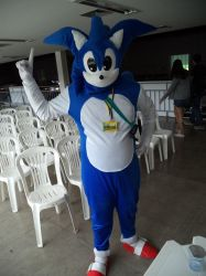 My Cosplay: Sonic The Hedgehog - First Time by ChechelEXGBR