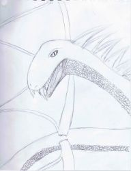 Winged serpent by clowe98