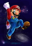 Mario Galaxy Colo by Sulfura