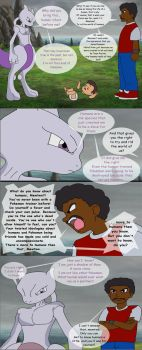 Mewtwo comic test pt1 by Gloverboy23