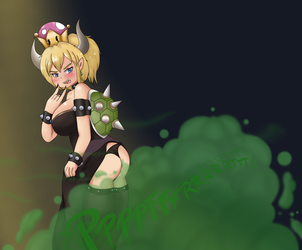 Bowsette Farts by BurpyChan
