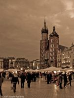 Postcard From Krakow by schelly