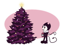 Bendy's Christmas Vibes by FionnaLover16